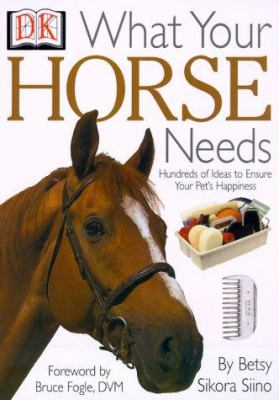 What your horse needs