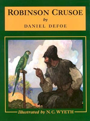 Robinson Crusoe / by Daniel Defoe ; with illustrations by N.C. Wyeth.