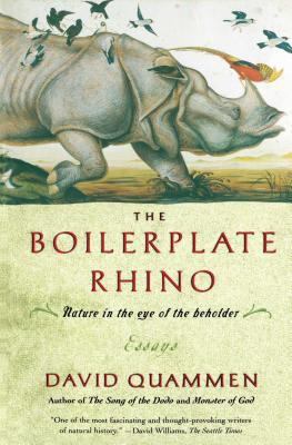 The boilerplate rhino : nature in the eye of the beholder