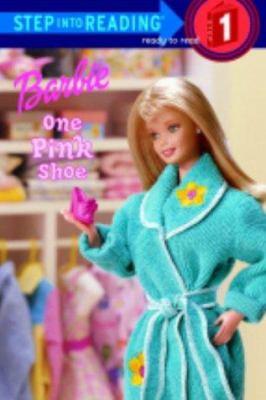 Barbie, one pink shoe