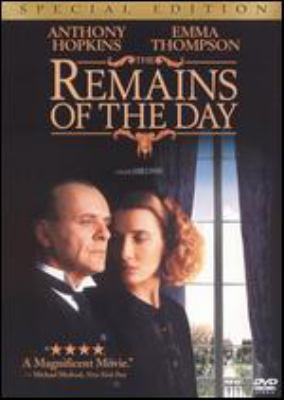 The remains of the day / Columbia Pictures presents ; a Mike Nichols/John Calley/Merchant Ivory Production ; screenplay by Ruth Prawer Jhabvala ; produced by Mike Nichols, John Calley, Ismail Merchant ; directed by James Ivory.