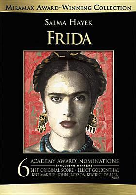 Frida / Miramax Films presents in association with Margaret Rose Perenchio, a Ventanarosa production in association with Lions Gate Films ; a film by Julie Taymor ; produced by Sarah Green, Salma Hayek, Jay Polstein [and 4 others] ; screenplay by Clancy Sigal and Diane Lake and Gregory Nava & Anna Thomas ; directed by Julie Taymor.
