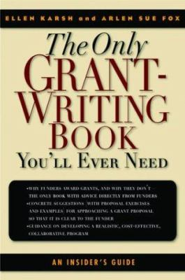 The only grant writing book you'll ever need