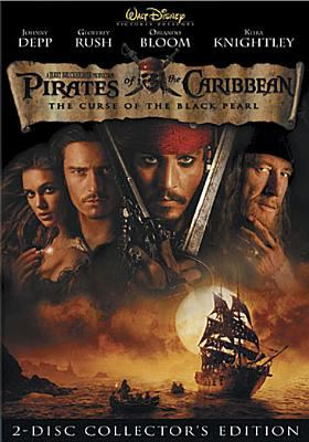 Pirates of the Caribbean. The curse of the Black Pearl / Walt Disney Pictures presents in association with Jerry Bruckheimer Films ; produced by Jerry Bruckheimer ; screenplay by Ted Elliott & Terry Rossio ; directed by Gore Verbinski.