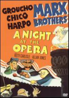 A night at the opera [videorecording] / a Metro-Goldwyn-Mayer picture ; screenplay by George S. Kaufman and Morrie Ryskind ; directed by Sam Wood.