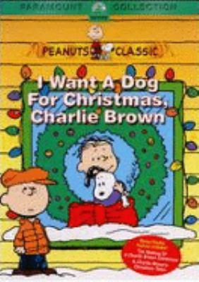 I want a dog for Christmas, Charlie Brown