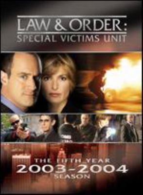Law & order Special Victims Unit. The fifth year 2003-2004 season