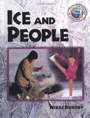 Ice and people