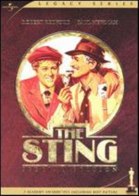 The sting Universal Pictures ; a Bill/Phillips production of a George Roy Hill film ; written by David S. Ward ; a Zanuck/Brown presentation.