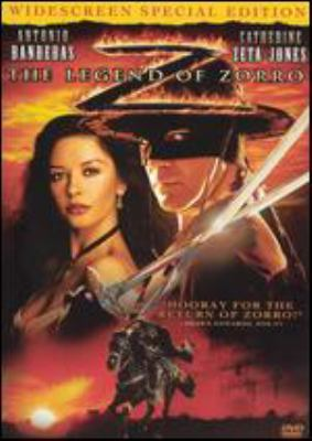 The legend of Zorro / Columbia Pictures and Spyglass Entertainments present an Amblin Entertainment production ; produced by Laurie MacDonald, Walter F. Parkes, Lloyd Phillips ; story by Roberto Orci & Alex Kurtzman and Ted Elliott & Terry Rossio ; screenplay by Roberto Orci & Alex Kurtzman ; directed by Martin Campbell.