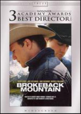 Brokeback Mountain [videorecording] / Focus Features and River Road Entertainment ; produced by Diana Ossana, James Schamus ; screenplay by Larry McMurtry & Diana Ossana ; directed by Ang Lee.
