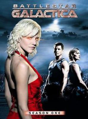 Battlestar Galactica. Season one / Universal Studios ; produced by Harvey Frand ; developed by Ronald D. Moore ; executive producers, Ronald D. Moore, David Eick ; R & D TV.