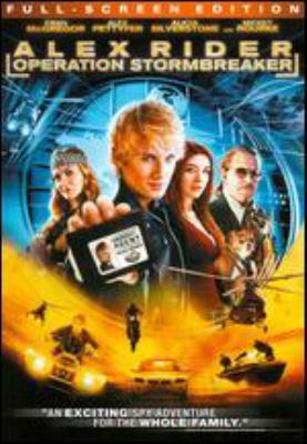 Alex Rider [videorecording] : Operation Stormbreaker / the Weinstein Company ; Isle of Man Film ; UK Film Council and Entertainment Film Distributors presents ; a Samuelson Productions ; VIP Medienfonds 4 Production ; in association with Rising Star ; screenplay by Anthony Horowitz ; produced by Marc Samuelson, Peter Samuelson, Steve Christian, Andreas Grosch ; directed by Geoffrey Sax.