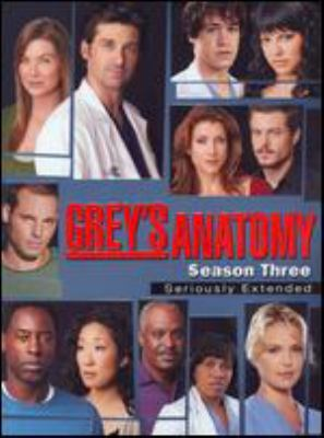 Grey's anatomy. Complete third season