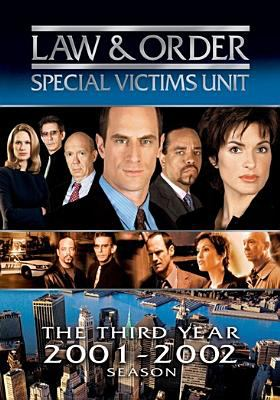 Law & order. Special Victims Unit. The third year, 2001-2002 season