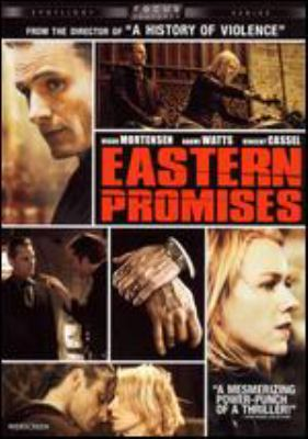 Eastern promises / Universal ; Focus Features presents, in association with BBC Films, Astral Media, Corus Entertainment and Telefilm Canada, a Kudos Pictures-Serendipity Point Films production in association with Scion Films ; directed by David Cronenberg ; screenplay by Steve Knight ; produced by Paul Webster, Robert Lantos ; a film by David Cronenberg.