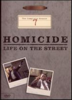 Homicide, life on the street. The complete season 7