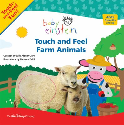 Touch and feel farm animals.