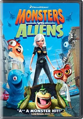 Monsters vs aliens / DreamWorks Animation presents ; produced by Lisa Stewart ; story by Rob Letterman & Conrad Vernon ; screenplay by Maya Forbes [and others] ; directed by Rob Letterman, Conrad Vernon.