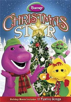 Barney. Christmas star