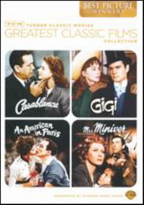 Greatest classic films collection. Best picture winners : Casablanca. Mrs. Miniver. Gigi. An American in Paris.