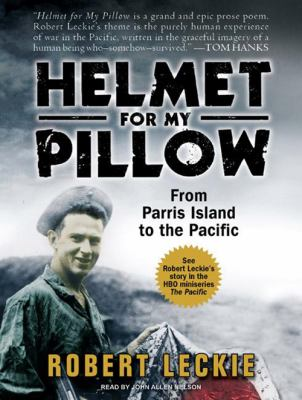 Helmet for my pillow from Parris Island to the Pacific