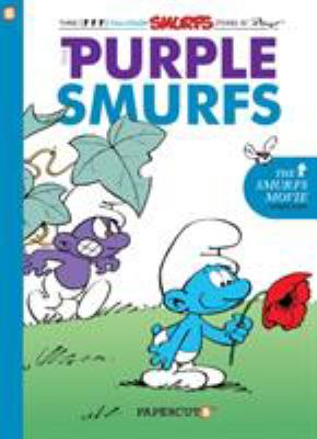 Smurfs graphic novel. [1], The purple Smurfs