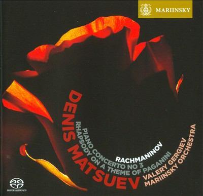 Piano concerto no 3 [sound recording] ; Rhapsody on a theme of Paganini / Rachmaninov.