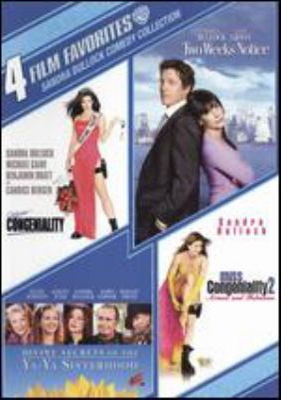 4 film favorites. Sandra Bullock comedy collection : Miss Congeniality. Miss Congeniality 2. Two weeks notice. Divine secrets of the Ya-Ya sisterhood.