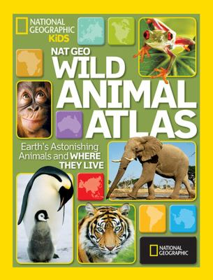 Animal Atlas : Earth's astonishing animals and where they live.
