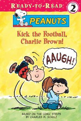 Kick the football, Charlie Brown!