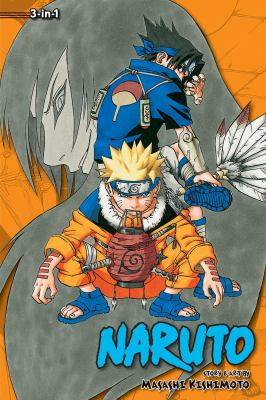 Naruto 3-in-1. Volumes 7-8-9