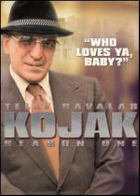 Kojak. Season one, disc 1