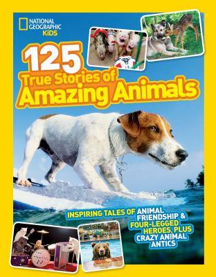 125 true stories of amazing animals.