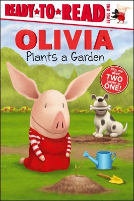 Olivia plants a garden : Olivia and ducklings