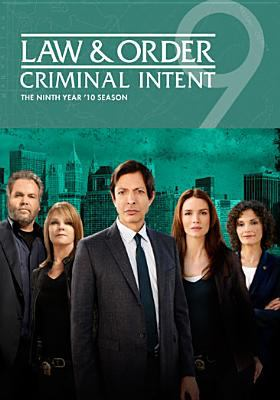 Law & order, criminal intent. The ninth year '10 season