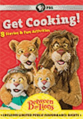 Between the lions. Get cooking!