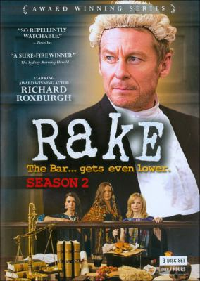 Rake. Season 2 the bar ... gets even lower