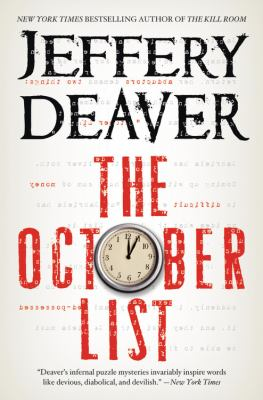 The October list / Jeffery Deaver.