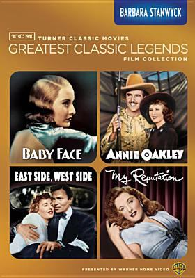 Turner Classic Movies greatest classic legends film collection. Barbara Stanwyck