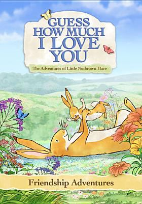 Guess how much I love you : the adventures of Little Nutbrown Hare. Friendship adventures / SLR Productions & Scrawl Studios presents for KI.KA & HR/Hessischer Rundfunk ; executive producer, Suzanne Ryan ; executive producers for KI.KA, Sebastian Debertin, Tina Sicker ; executive producers for Scrawl, Seng Choon Meng, Wong Chi Kong ; executive producers for Hessischer Rundfunk, Gabrielle Holzner, Patricia Vasapollo ; producers, Suzanne Ryan, Seng Choon Meng ; director, Steve Moltzen ; in association with TVO Kids, Knowledge:Kids, YLE, svtB ; produced in association with 4 Kids ABC ; The Walt Disney Company (Australia) ; an official Australia-Singapore coporduction.