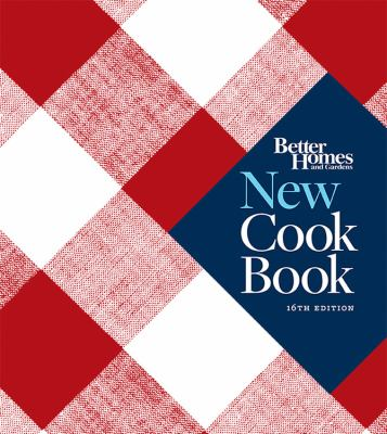 New cook book.