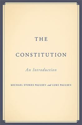 The Constitution : an introduction
