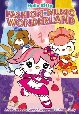 Hello Kitty. Fashion music wonderland