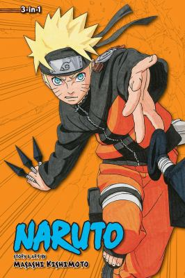 Naruto 3-in-1. Volume 10 : a compilation of the graphic novel volumes 28-30