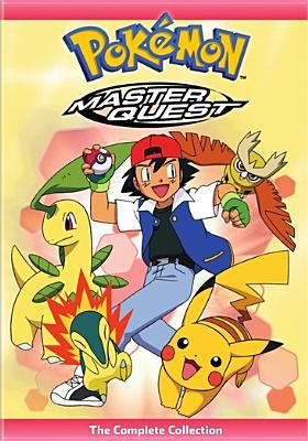 Pokemon master quest. The complete collection