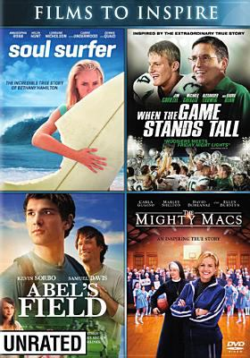 Soul surfer : When the game stands tall, Abel's field and The Mighty Macs.