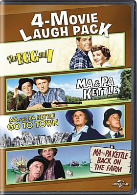 The egg and I ; Ma & Pa Kettle ; Ma and Pa Kettle go to town ; Ma and Pa Kettle back on the farm