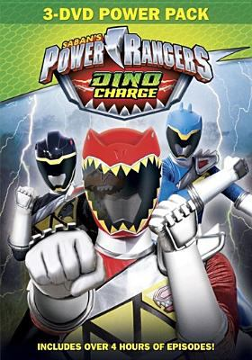 Power Rangers dino charge : 3-DVD power pack.