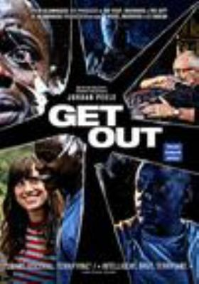 Get out / Universal Pictures presents ; a Blumhouse / QC Entertainment production ; in association with Monkeypaw Productions ; a Jordan Peele film ; produced by Sean McKittrick, Jason Blum, Edward H. Hamm Jr., Jordan Peele ; written and directed by Jordan Peele.